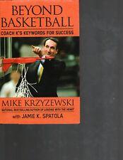 Mike Krzyzewski Duke Blue Devils 2 Book lot Beyond Basketball, Five point Play