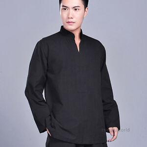 Cotton Tai Chi Kung fu Jacket Wing Chun Meditation Suit Martial arts Uniform