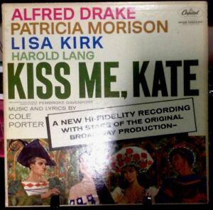 KISS ME KATE 1959 Capitol Studio Recording of the Original Cast Album Released