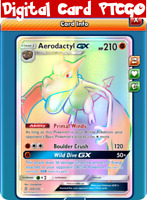 Aerodactyl GX 244/236 PTCGO Pokemon TCG Online