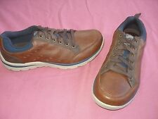 mens 12 SKECHERS 64437 SUPERIOR EMENS Relaxed Fit Casual Oxford Sporty Shoes NEW