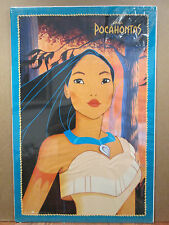 vintage Walt Disney original Pocahontas movie poster  10826