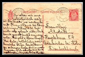 GP GOLDPATH: NORWAY POSTAL CARD 1914 _CV561_P29