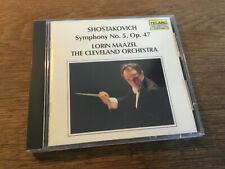 Schostakowitsch  Shostakovich -  Sinfonie 5  [CD Album] TELARC Lorin Maazel