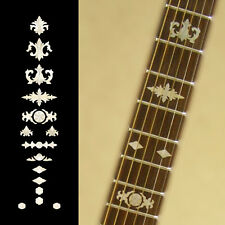 Fretboard Markers Inlay Sticker Decals for Guitar &  Banjo - Aged Banjo WP
