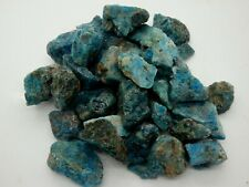BLUE APATITE Gemstone Rough Rocks - 5 Lb Lot - Tumbling - FREE SHIPPING