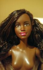 NEW 2017 FASHIONISTA AFRICAN AMERICAN BARBIE DOLL NUDE