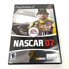NASCAR 07 PlayStation PS2 Racing Video Game