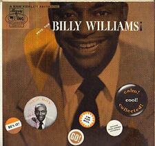 "BILLY WILLIAMS ""VOTE FOR B. WILLIAMS"" RHYTHM & BLUES DOO WOP 50'S LP WING 12131"