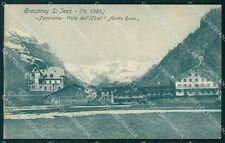 Aosta Gressoney Saint Jean Monte Rosa cartolina VK0725