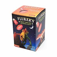 Fluker's Red Night Time Basking Spotlight Infrared Heat Lamp for Reptiles