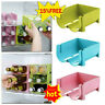 Beer Bottle Beverage Can Refrigerator Storage Box Rack US Stackable X9U4