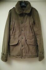 Abercrombie & Fitch B-9 Sherpa military jacket, size L - cost over £200 new!