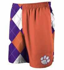 Loudmouth Clemson Tigers Men's Basketball Shorts- Adult Small