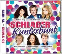 SCHLAGER KUNTERBUNT Andrea Berg/Roland Kaiser/Hansi Hinterseer/Nicole/+ CD NEU