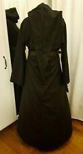 Mittelalterliches Kleid Gewand Gr 46 48 50 Gothic Fantasy Mittelalter schwarz