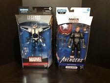 Marvel Legends Mach-1 & Captain America Lot Of 2 Figures! NO BAF