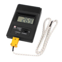 TM-902C Digital LCD Thermometer Meter Single Input  K Type  w/Thermocouple Probe