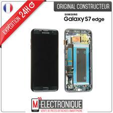 Samsung GH97-18533A Ecran LCD avec Vitre Tactile pour Galaxy S7 edge SM-G935F - Noir
