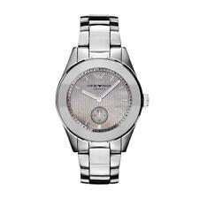 NWT Hi-End Emporio Armani Women's Watch Titanium Ceramic MOP LEO AR1463 $545