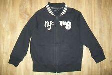 Tommy Hilfiger-boys navy cotton blend jacket/jumper.5/6y.Used