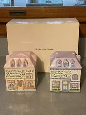 New listing The Lenox Village Nut & Candy Canister Set - Vintage *Rare* Hard To find !
