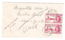British Guiana SG#320(pair)-BETERVERWAGTING 11/FE/47-to USA-via GEORGETOWN