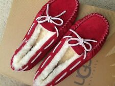 UGG Girl's Red Slippers/Sparkle 2 Youth - Brand New
