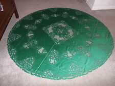 New Green Battenberg lace design Tablecloth  70 round