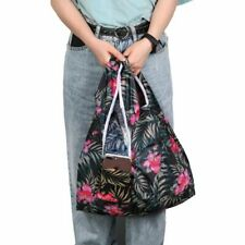 5Pcs Foldable Handy Shopping Bags Reusable Tote Pouch Recycle Storage Handbags