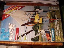 10µµ Revue RC Marine n°113 Plan encarté Hydroplane H Plus / Florida 26 Regatta51