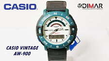 VINTAGE CASIO AW-900 SEYMOUR POWELL DESIGN QW.748 JAPAN WR.100M SIN CAJA DE ORIG