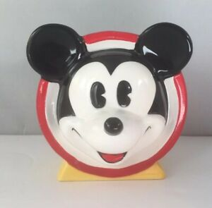 Disney Mickey Mouse Hand Painted Ceramic Toothbrush Holder