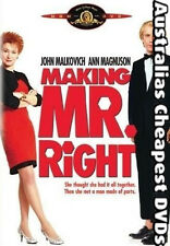 Making Mr. Right DVD NEW, FREE POSTAGE WITHIN AUSTRALIA REGION 4