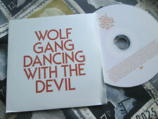 Wolf Gang – Dancing With The Devil Atlantic ‎– Promo CDr UK CD Single