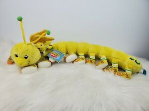 """Vtg 1999 Lots A Lots A Leggggggs Legs Giggling Chirpy Caterpillar Plush wTag 28"""""""