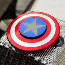 Captain America 3D Fidget Hand Spinner Shield Toy EDC Focus ADHD Autism Adult CA