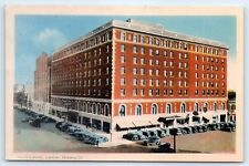 Postcard Canada Hotel London Ontario Vintage View Old Cars D7