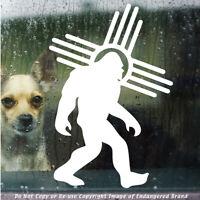 - Zia Sasquatch Walk to Right Big Foot Yeti New Mexico America sticker decal