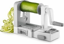 Gourmia GSS9615 Foldable Manual Spiralizer Vegetable Mandolin Slicer, Pasta