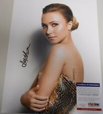 HAYDEN PANETTIERE * PSA/DNA CERTIFIED * AWESOME * HAND SIGNED 11 X 14'
