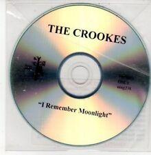 (DG54) The Crooks, I Remember Moonlight - DJ CD