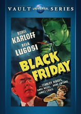 Black Friday DVD - Boris Karloff, Bela Lugosi, Arthur Lubin, Anne Nagel & Gwynne