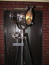 HOLLYWOOD SEARCHLIGHT SPOT LIGHT FLOOR LAMP REVOLVING LIGHT AND TRIPOD