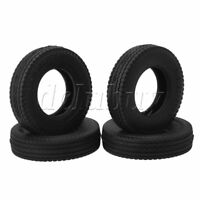 4Pieces RC 1:14 Wave Line Type Tire Tyres 85x22mm for TAMIYA Truck Spare Parts