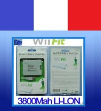 NEW BATTERIE rechargeable pour NINTENDO Wii BALANCE BOARD wiifit fit USB