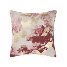 Linen House Floriane Terracotta Square Filled Cushion 48cm X 48cm