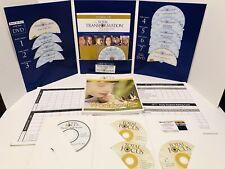 The Total Transformation Program + Total Focus James Lehman CDs/Books Missing CD