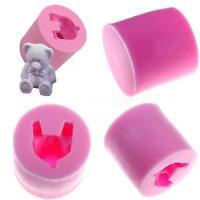 3D Bear Silicone Molds Chocolate Baking Mold Fondant Sugarcraft Soap Mold QK