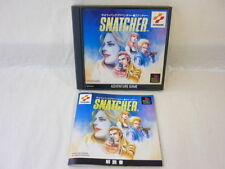 SNATCHER Item Ref/bcb PS1 Playstation PS Konami Import Japan Video Game p1